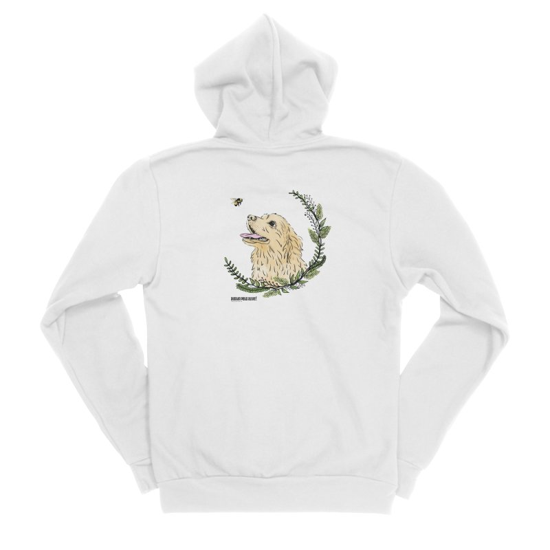 Dog Days Men's Sponge Fleece Zip-Up Hoody by Austin Pets Alive's Artist Shop
