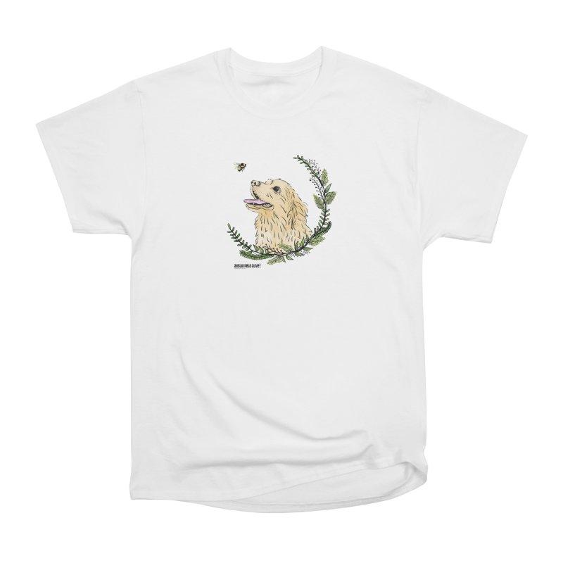 Dog Days Women's Heavyweight Unisex T-Shirt by Austin Pets Alive's Artist Shop