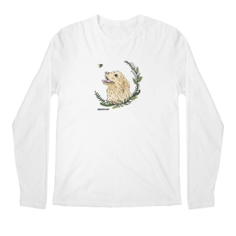 Dog Days Men's Regular Longsleeve T-Shirt by Austin Pets Alive's Artist Shop