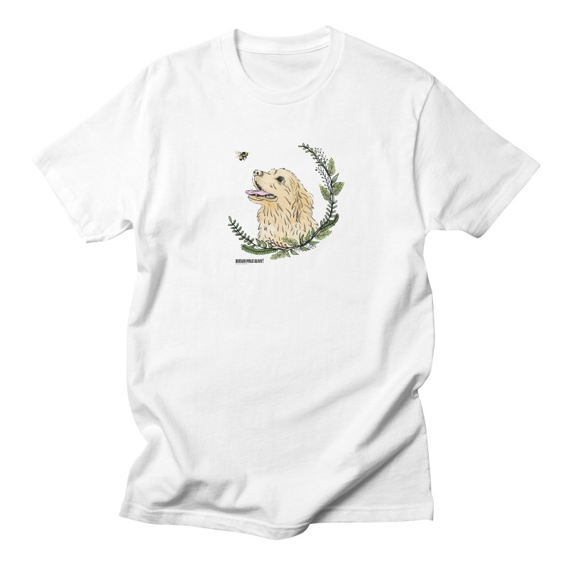 Dog Days Men's Regular T-Shirt by Austin Pets Alive's Artist Shop