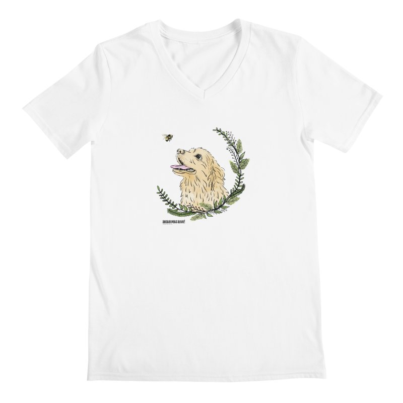 Dog Days Men's V-Neck by Austin Pets Alive's Artist Shop