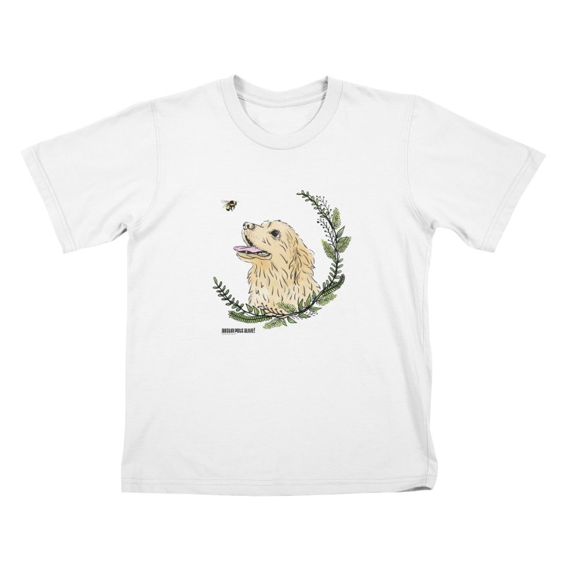 Dog Days Kids T-Shirt by Austin Pets Alive's Artist Shop
