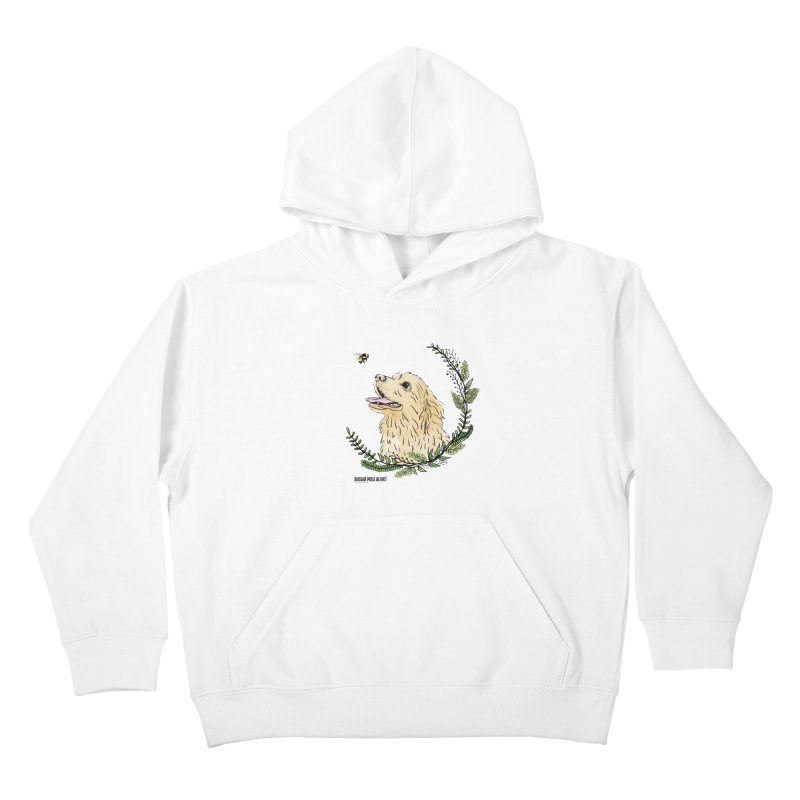 Dog Days Kids Pullover Hoody by Austin Pets Alive's Artist Shop