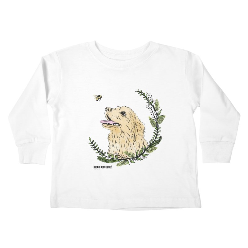 Dog Days Kids Toddler Longsleeve T-Shirt by Austin Pets Alive's Artist Shop