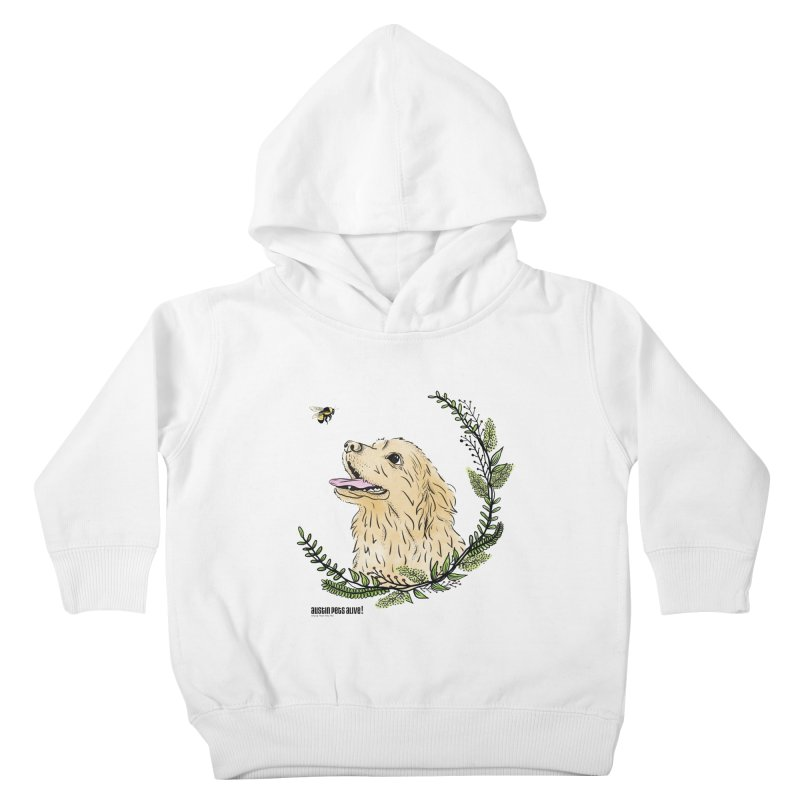 Dog Days Kids Toddler Pullover Hoody by Austin Pets Alive's Artist Shop
