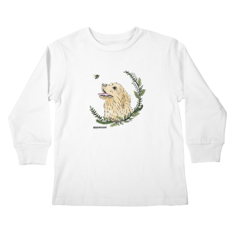 Dog Days Kids Longsleeve T-Shirt by Austin Pets Alive's Artist Shop