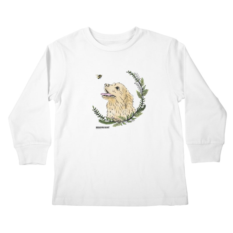 Dog Days Kids Longsleeve T-Shirt by Austin Pets Alive's Artist Shop