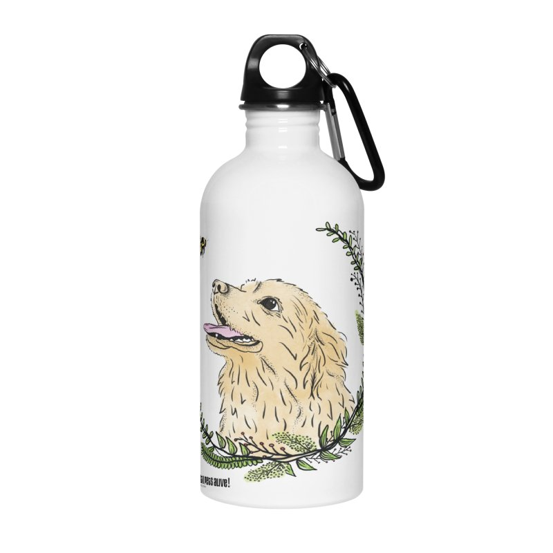 Dog Days Accessories Water Bottle by Austin Pets Alive's Artist Shop