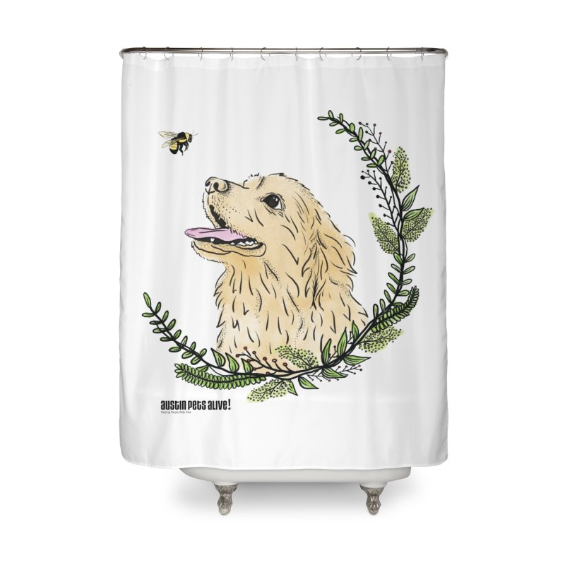 Dog Days Home Shower Curtain by Austin Pets Alive's Artist Shop