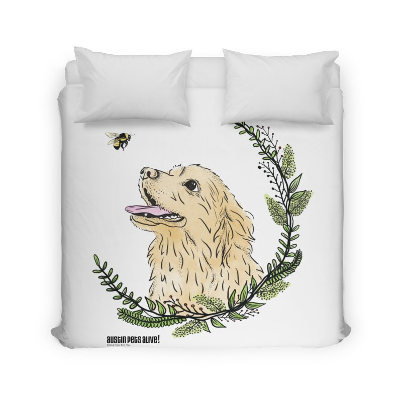Dog Days Home Duvet by Austin Pets Alive's Artist Shop