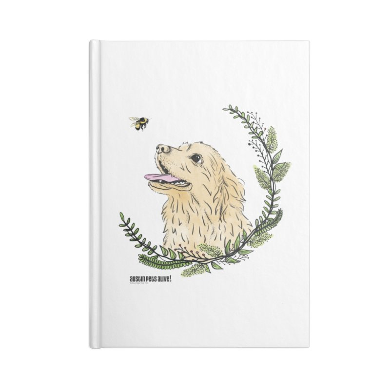 Dog Days Accessories Lined Journal Notebook by Austin Pets Alive's Artist Shop