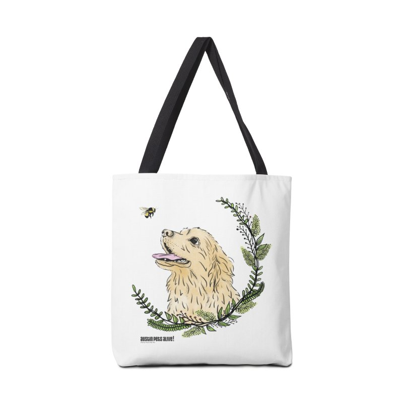 Dog Days Accessories Tote Bag Bag by Austin Pets Alive's Artist Shop