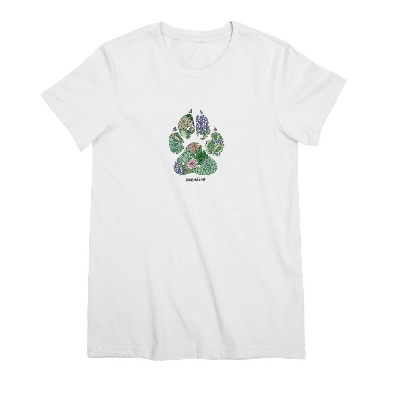 Flower Power Women's Premium T-Shirt by Austin Pets Alive's Artist Shop