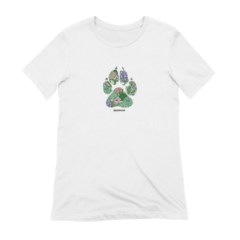Flower Power Women's Extra Soft T-Shirt by Austin Pets Alive's Artist Shop