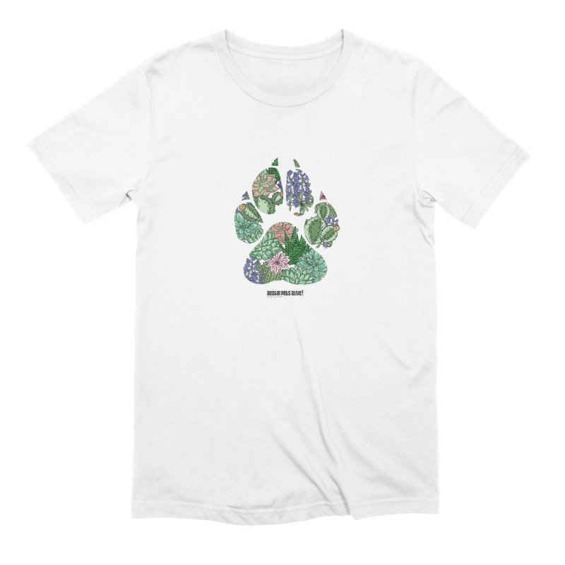 Flower Power Men's Extra Soft T-Shirt by Austin Pets Alive's Artist Shop