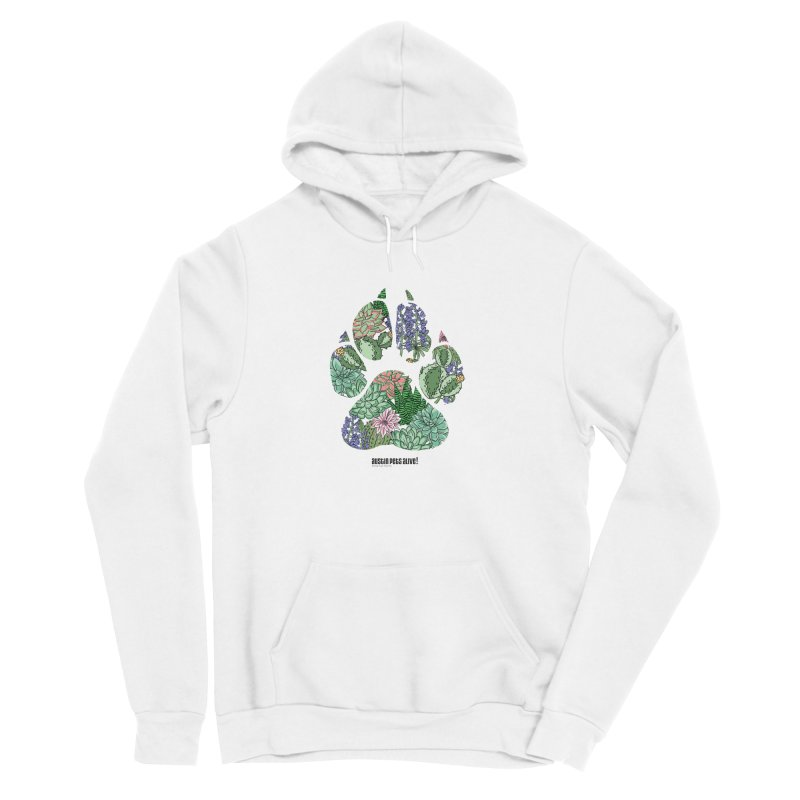 Flower Power Men's Sponge Fleece Pullover Hoody by Austin Pets Alive's Artist Shop
