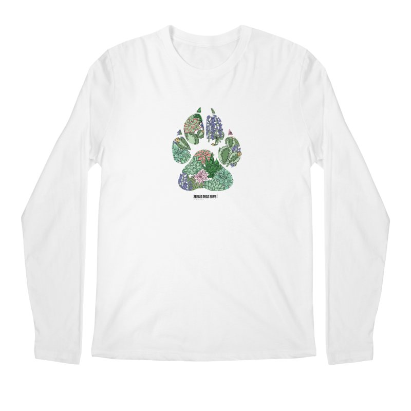 Flower Power Men's Regular Longsleeve T-Shirt by Austin Pets Alive's Artist Shop