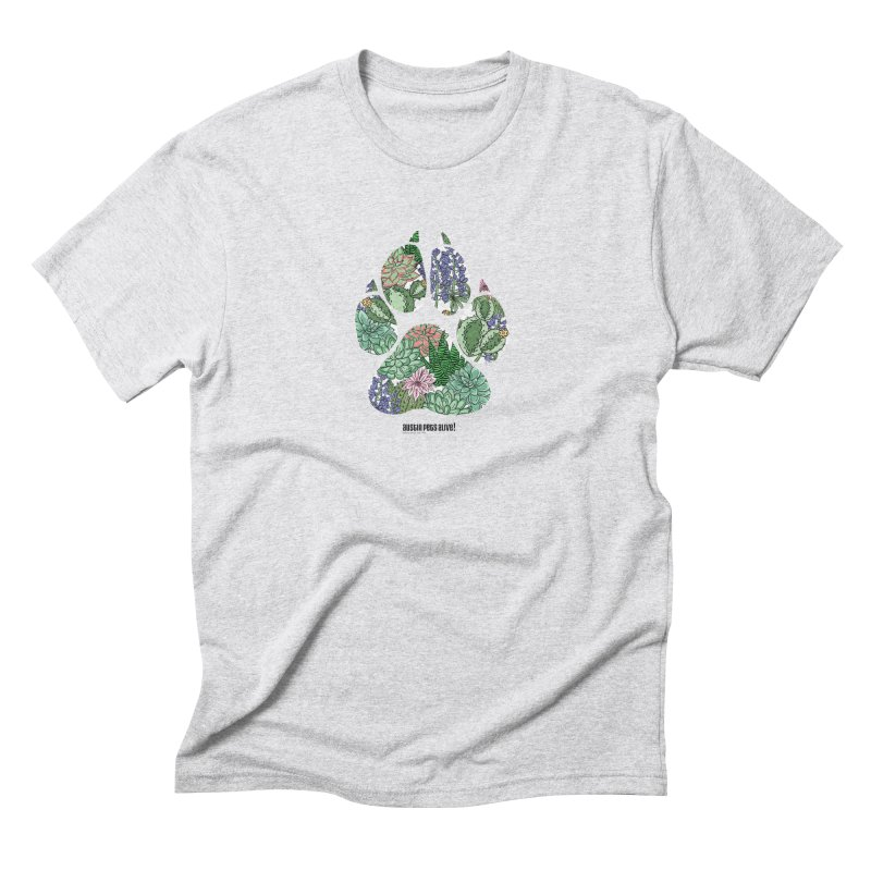 Flower Power Men's T-Shirt by Austin Pets Alive's Artist Shop