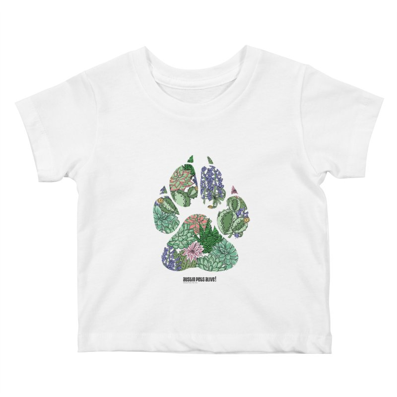 Flower Power Kids Baby T-Shirt by Austin Pets Alive's Artist Shop