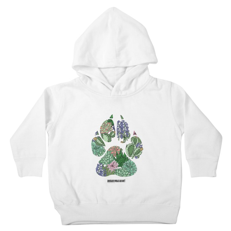 Flower Power Kids Toddler Pullover Hoody by Austin Pets Alive's Artist Shop