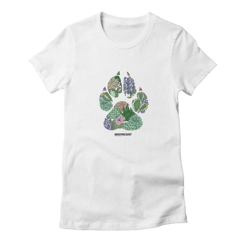 Flower Power Women's T-Shirt by Austin Pets Alive's Artist Shop