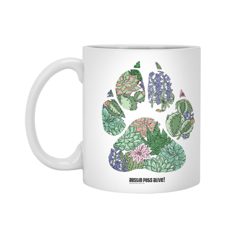 Flower Power Accessories Standard Mug by Austin Pets Alive's Artist Shop
