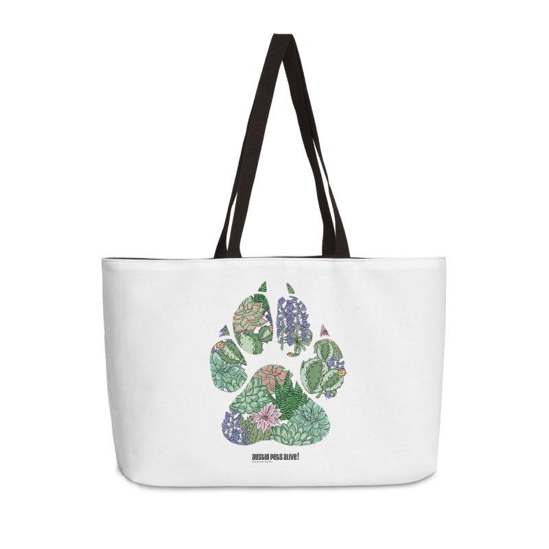 Flower Power Accessories Weekender Bag Bag by Austin Pets Alive's Artist Shop