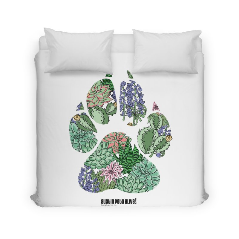 Flower Power Home Duvet by Austin Pets Alive's Artist Shop