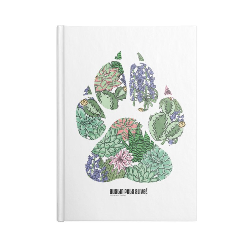 Flower Power Accessories Notebook by Austin Pets Alive's Artist Shop
