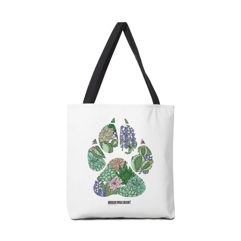 Flower Power Accessories Tote Bag Bag by Austin Pets Alive's Artist Shop