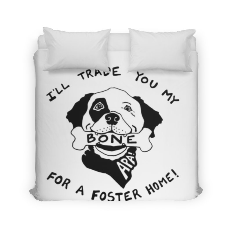 For the Love of Fostering Home Duvet by Austin Pets Alive's Artist Shop