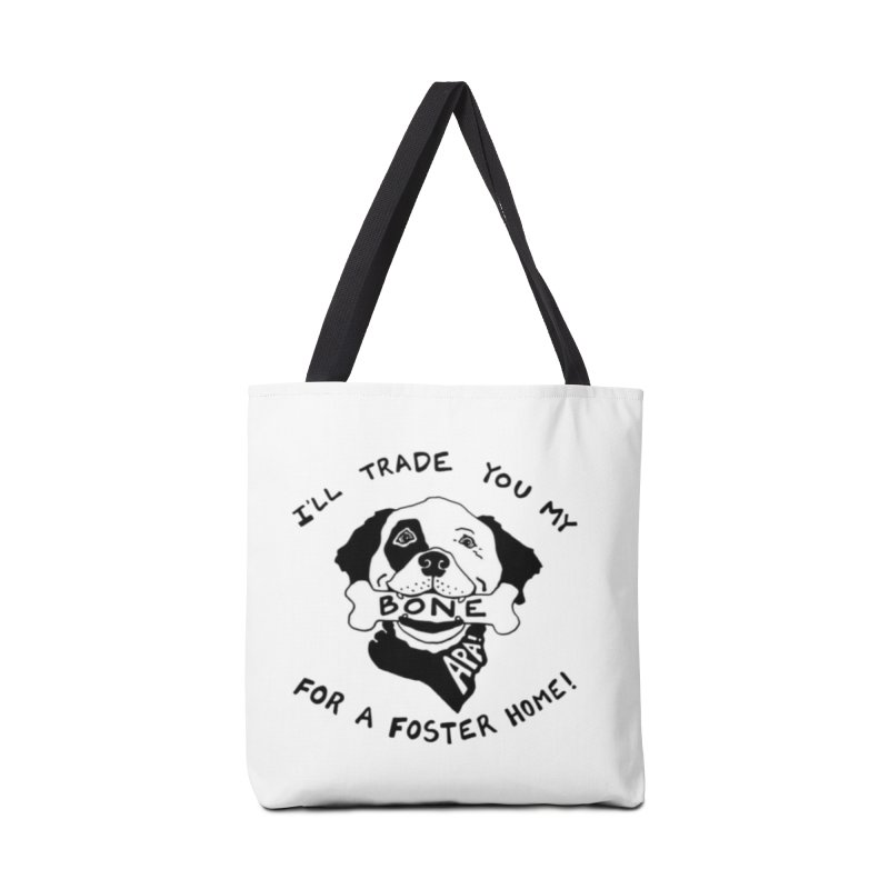 For the Love of Fostering Accessories Tote Bag Bag by Austin Pets Alive's Artist Shop