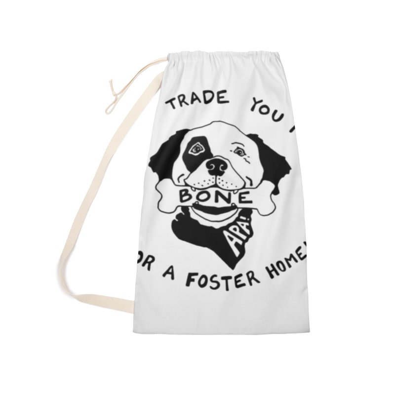 For the Love of Fostering Accessories Laundry Bag Bag by Austin Pets Alive's Artist Shop