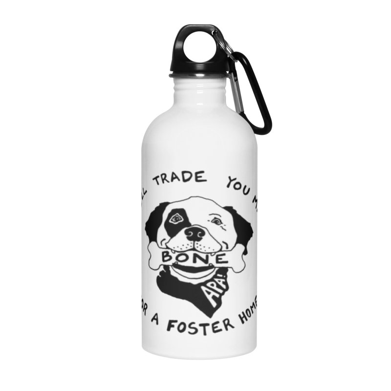 For the Love of Fostering Accessories Water Bottle by Austin Pets Alive's Artist Shop
