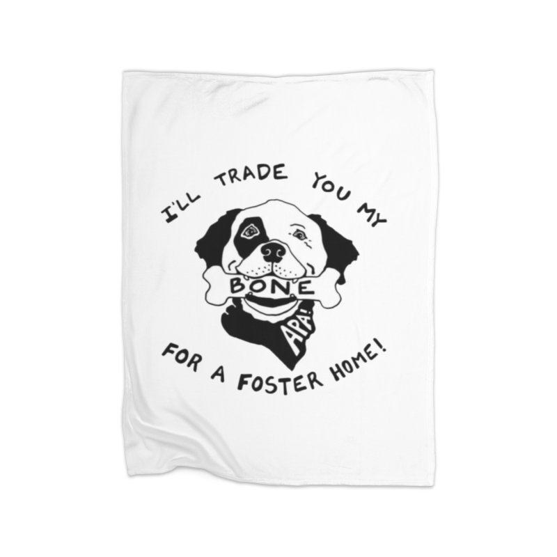 For the Love of Fostering Home Blanket by Austin Pets Alive's Artist Shop
