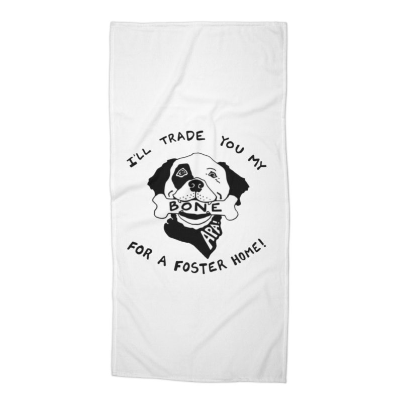 For the Love of Fostering Accessories Beach Towel by Austin Pets Alive's Artist Shop