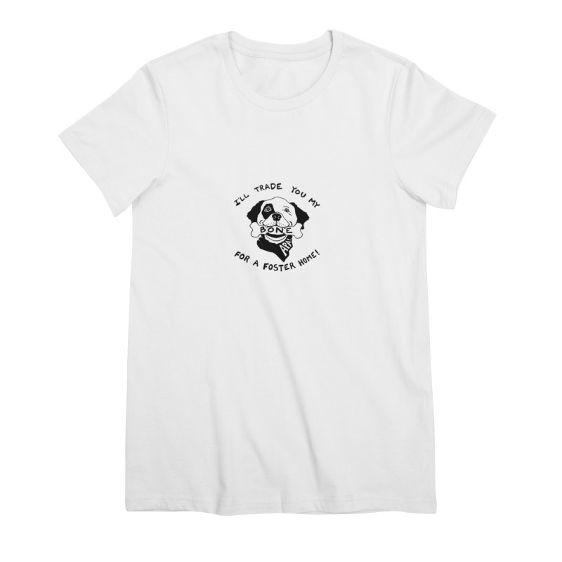 For the Love of Fostering Women's Premium T-Shirt by Austin Pets Alive's Artist Shop