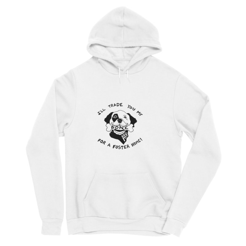 For the Love of Fostering Men's Sponge Fleece Pullover Hoody by Austin Pets Alive's Artist Shop