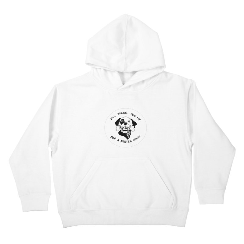 For the Love of Fostering Kids Pullover Hoody by Austin Pets Alive's Artist Shop