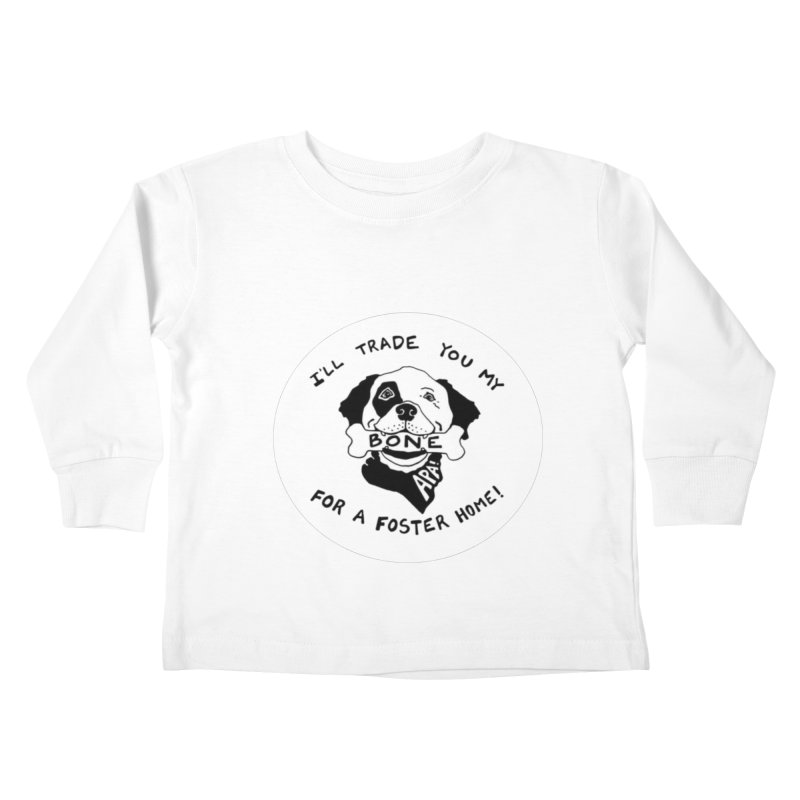 For the Love of Fostering Kids Toddler Longsleeve T-Shirt by Austin Pets Alive's Artist Shop