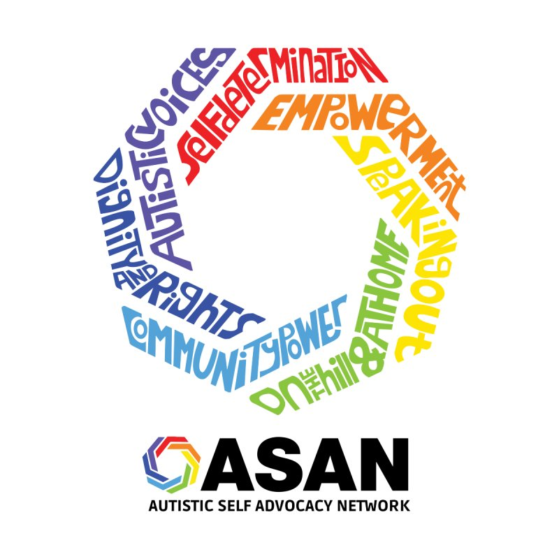 Typographic Logo by Autistic Self Advocacy Network Shop