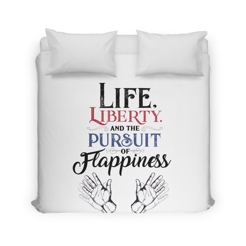 Pursuit of Flappiness Home Duvet by Autistic Self Advocacy Network Shop