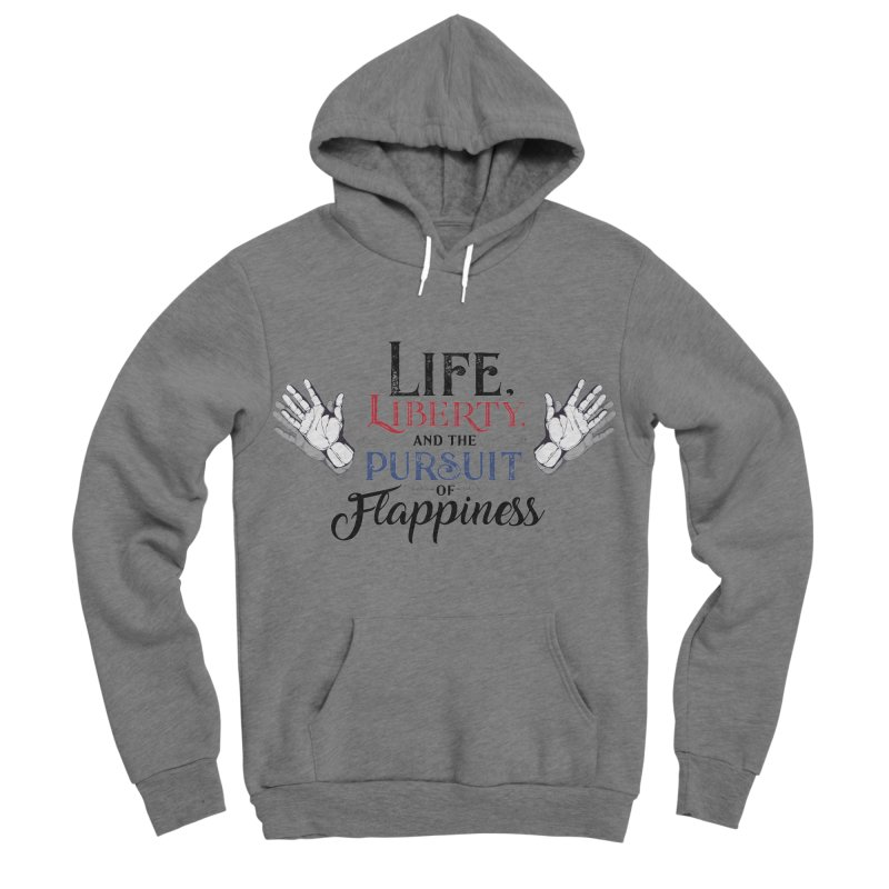 Pursuit of Flappiness Women's Sponge Fleece Pullover Hoody by Autistic Self Advocacy Network Shop
