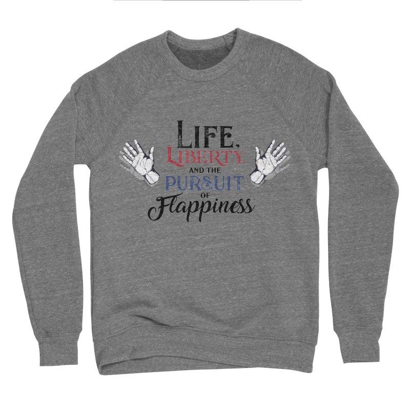 Pursuit of Flappiness Women's Sponge Fleece Sweatshirt by Autistic Self Advocacy Network Shop