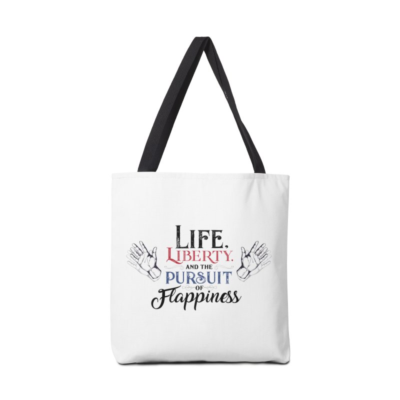 Pursuit of Flappiness Accessories Tote Bag Bag by Autistic Self Advocacy Network Shop