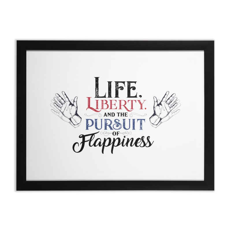 Pursuit of Flappiness Home Framed Fine Art Print by Autistic Self Advocacy Network Shop