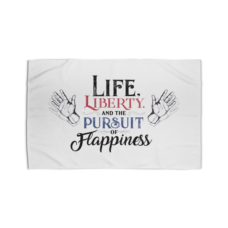 Pursuit of Flappiness Home Rug by Autistic Self Advocacy Network Shop