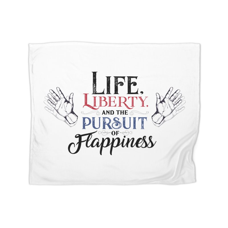 Pursuit of Flappiness Home Fleece Blanket Blanket by Autistic Self Advocacy Network Shop