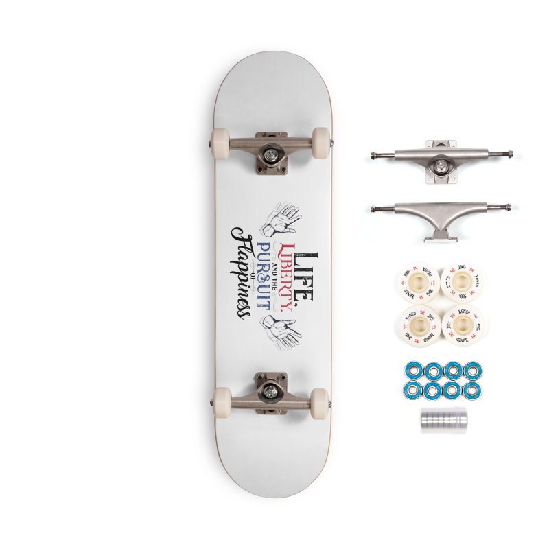 Pursuit of Flappiness Accessories Complete - Premium Skateboard by Autistic Self Advocacy Network Shop