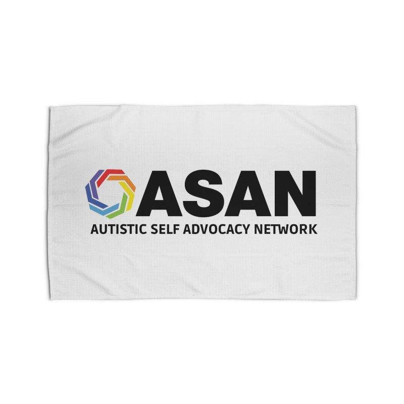 Horizontal Logo Home Rug by Autistic Self Advocacy Network Shop